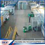 High-Grade Double Mirror Silvering Production Line高档双层银镜镀膜生产线